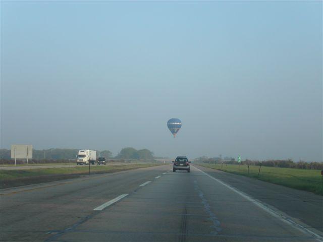 アメリカ横断 気球