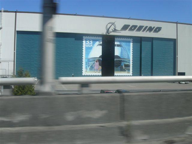 ボーイング工場 シアトル