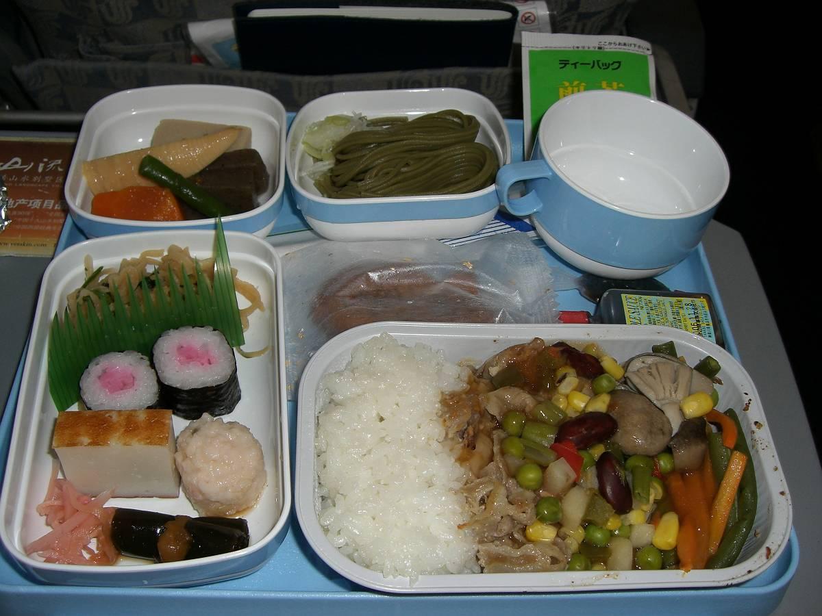 中国国際航空(CA)952便機内食(8月)
