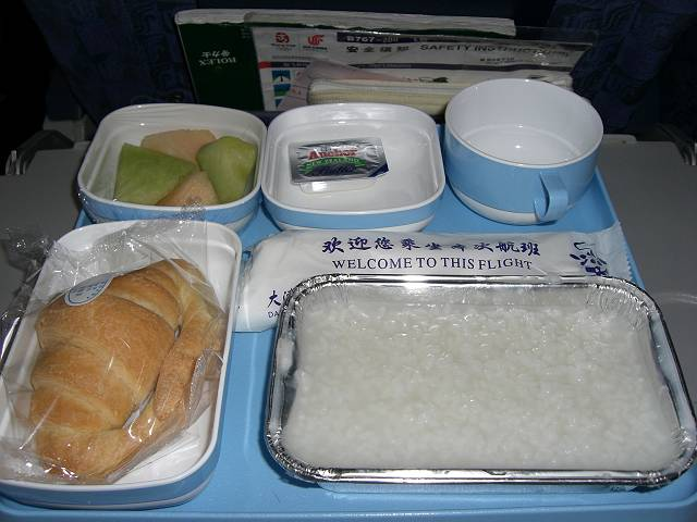 中国国際航空(CA)951便機内食
