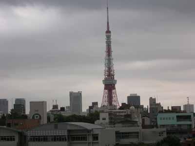 六本木ヒルズからの東京タワー