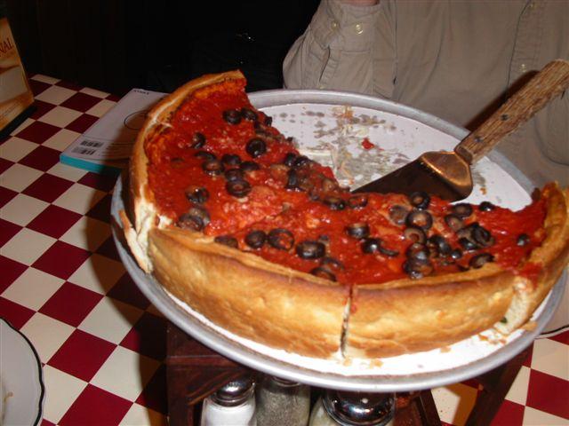 シカゴ ピザ その2
