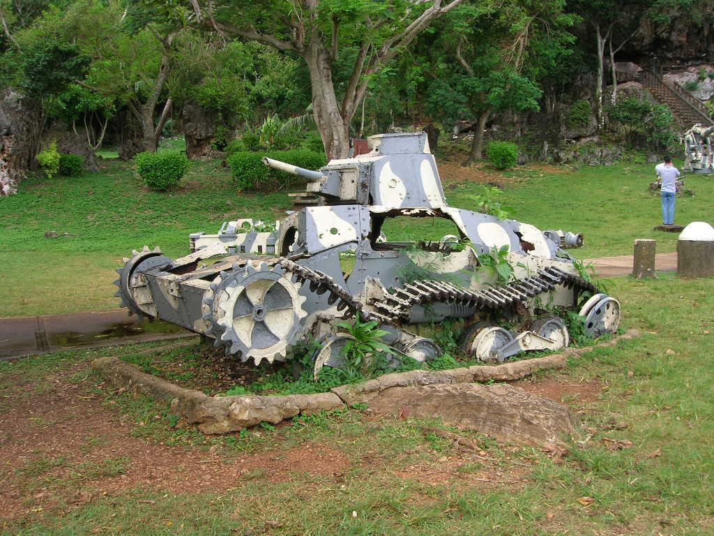 第二次大戦の残骸