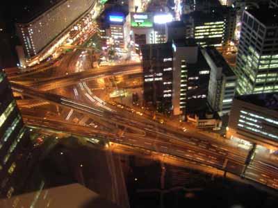 首都高速、赤坂見附ジャンクション