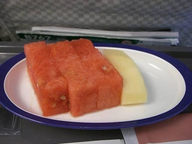 日本航空(JAL)機内食海老粥 3