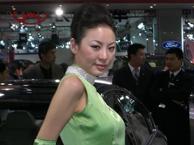 美人モデル1 第9回北京国際モーターショー