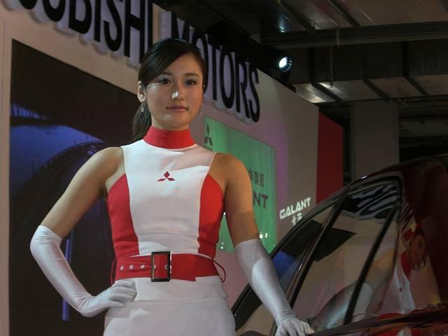 美人モデル4 第9回北京国際モーターショー