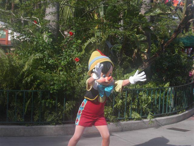 ピノキオ in WDW