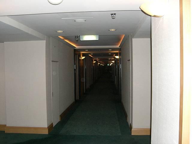 スイスホテル大連25階廊下