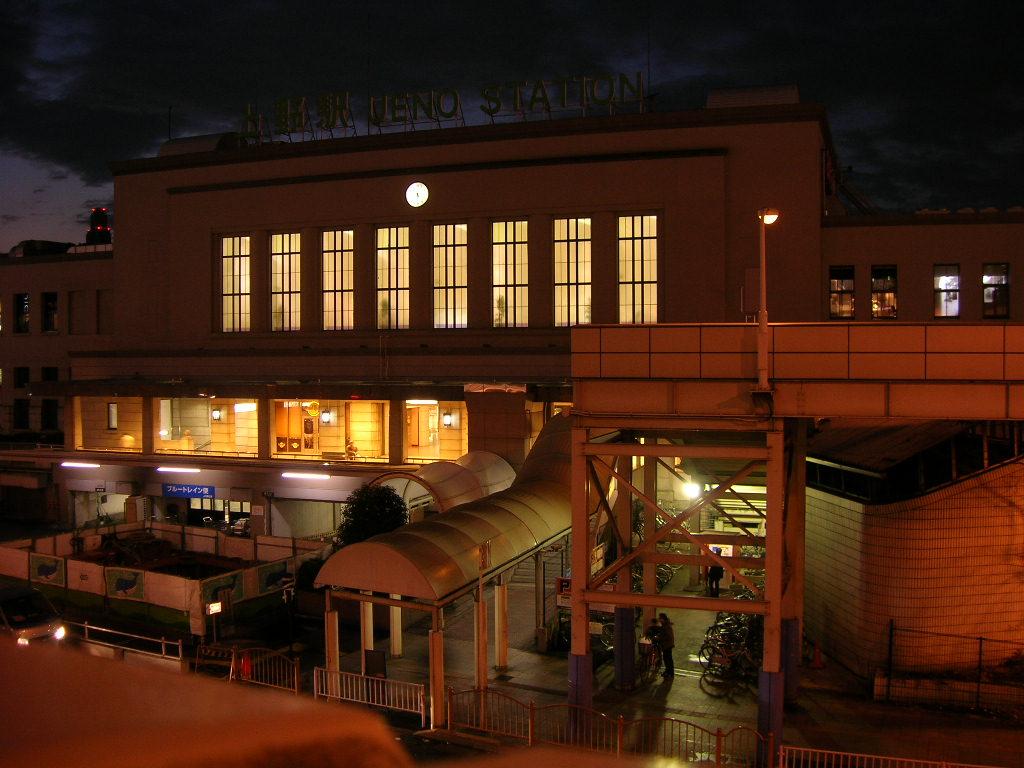 上野駅玄関