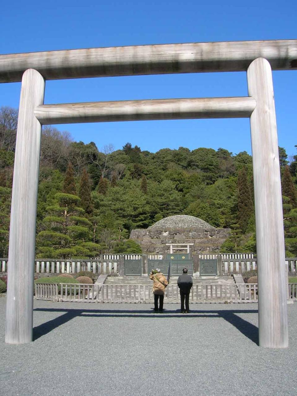 多摩御陵 昭和天皇の墓所