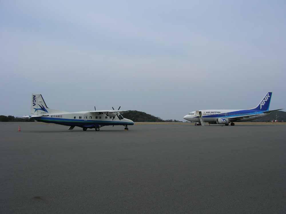 大島空港の定期便