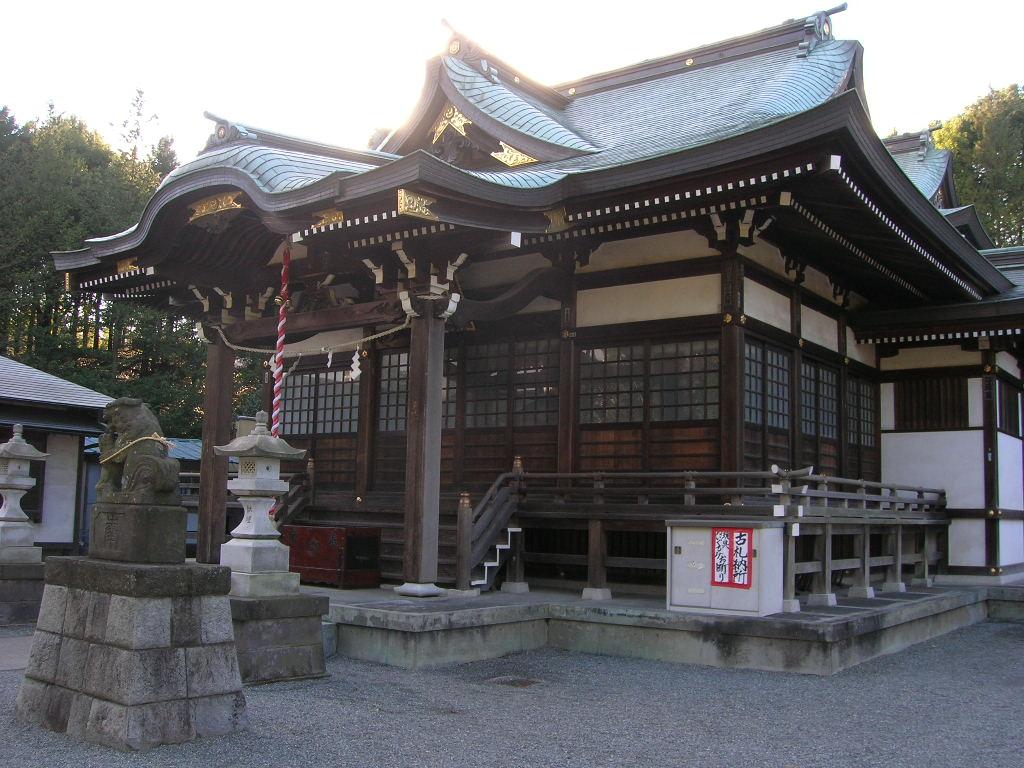 白山神社(多摩センター、落合)