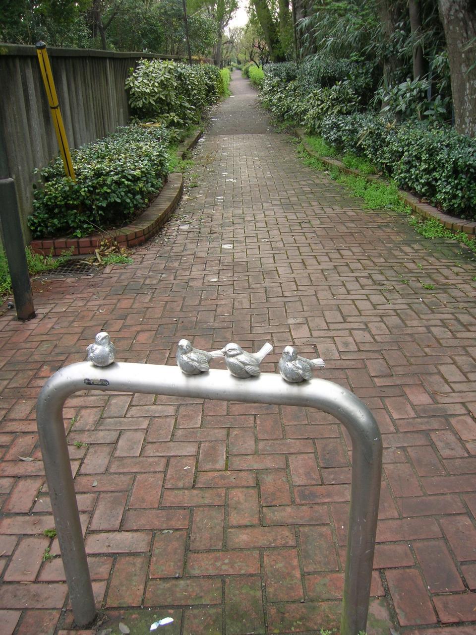 小金井市の遊歩道