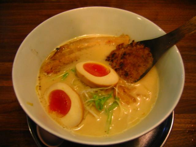 鶏味噌白湯