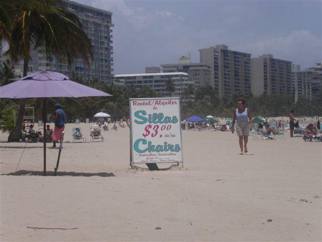 プエルトリコのビーチ