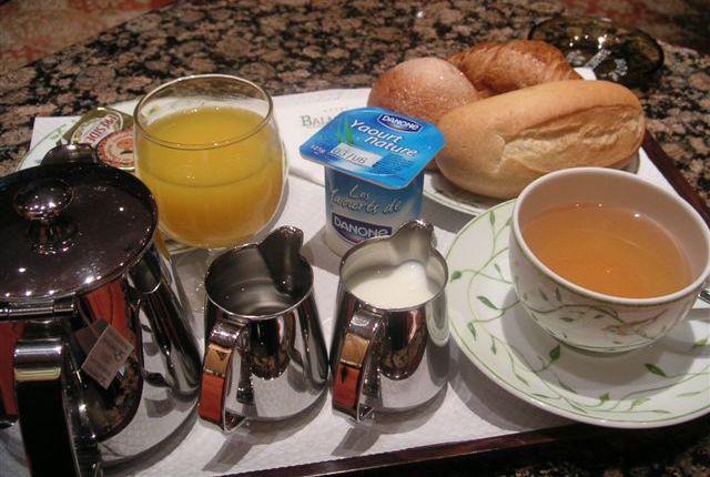 パリにおける朝食