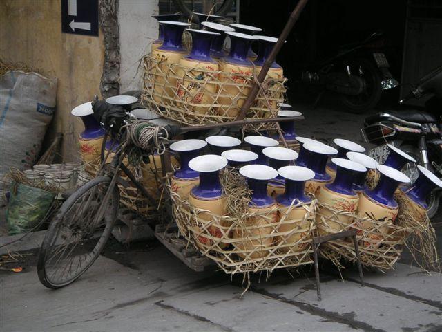 ヴェトナムの自転車