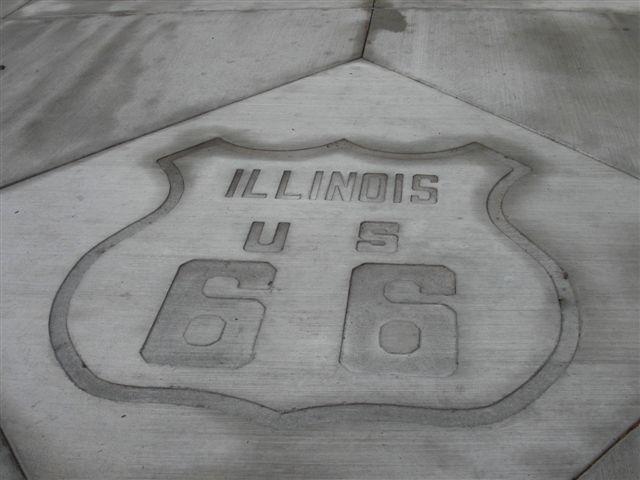 イリノイ州 ルート66