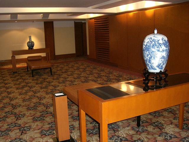 北京国際飯店 エレベーターホール 続続