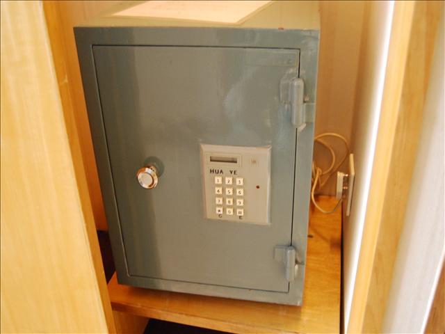 ランドマークタワーホテル 部屋内セキュリティボックス