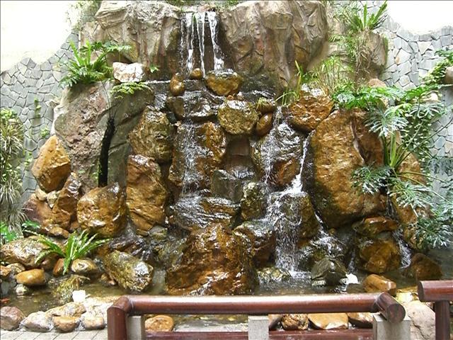 広州ランドマークタワーホテル庭園 2
