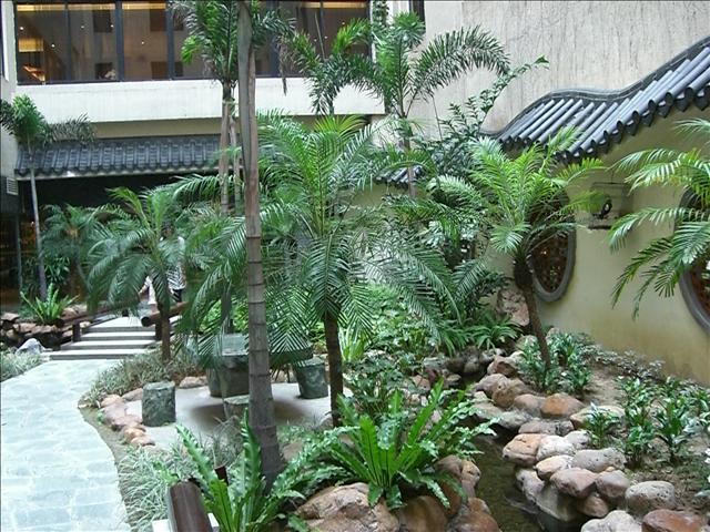 広州ランドマークタワーホテル庭園 4