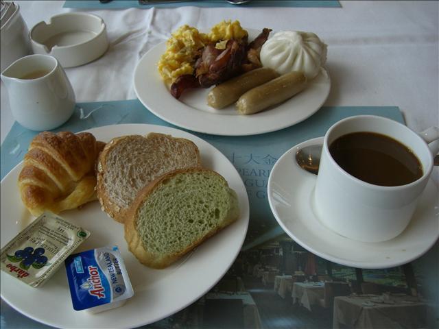 広州ランドマークタワーホテル 朝食1