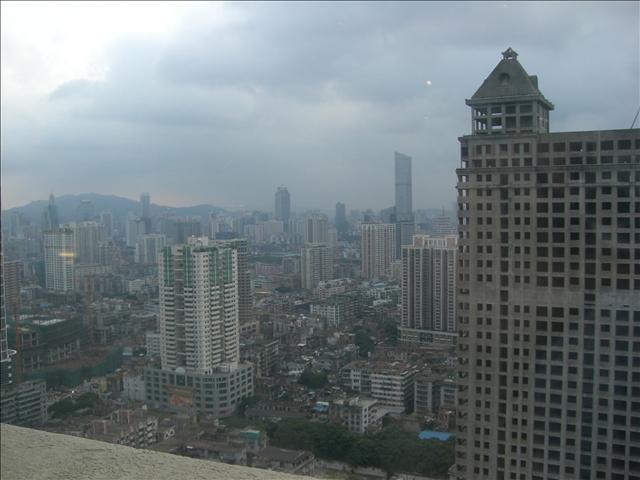 広州ランドマークタワーホテルの眺め