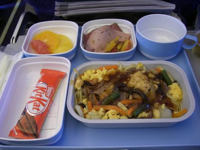 中国国際航空(CA)機内食