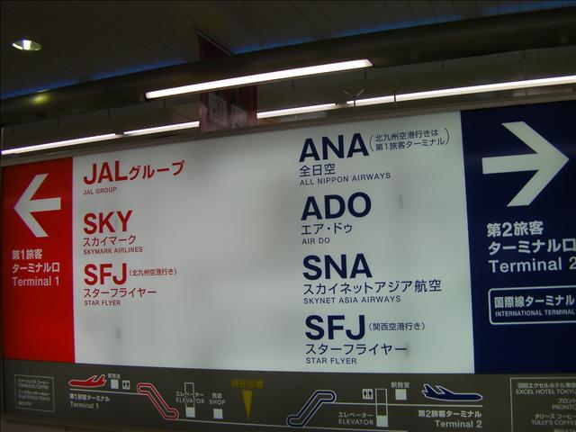 京浜急行羽田空港駅から行きます