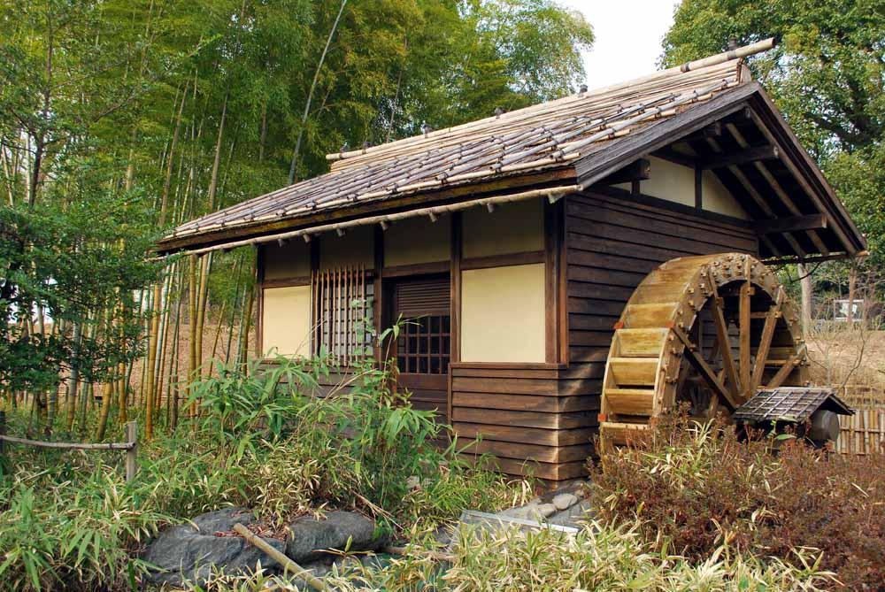 府中郷土の森の水車小屋