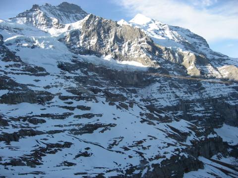 スイスアルプスの眺め3(終盤)