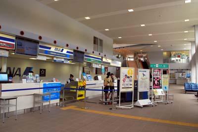 伊豆大島空港 エアーニッポン搭乗口