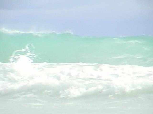 セイシェルの海