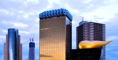浅草から見た2010年1月のスカイタワー