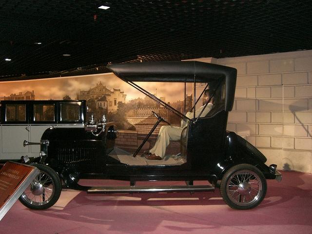 歴史博物館 自動車