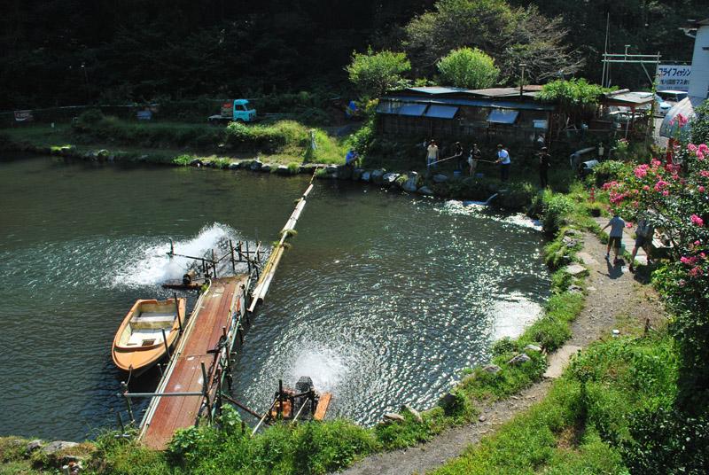 浅川国際マス釣り場