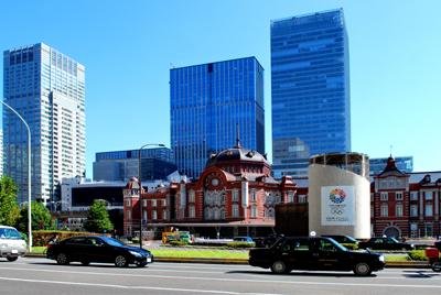 復元された 東京駅