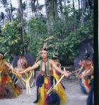 ヤップ島のダンス
