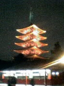 浅草寺の5重の塔