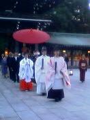 明治神宮での結婚式1