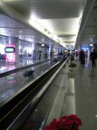 北京空港動く歩道