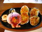 貝の料理いろいろ