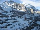 スイスアルプスの眺め...